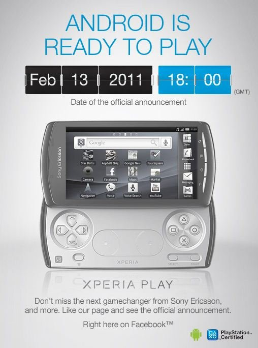 Xperia Play Oficial (Por fin)