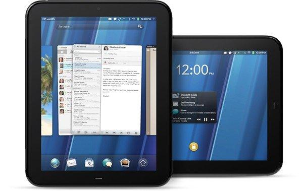 HP Touchpad, la apuesta webOS en formato tablet.