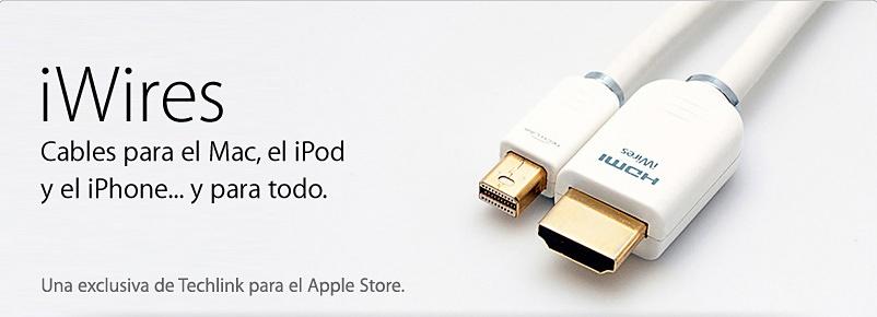 Apple vende nuevos adaptadores y cables, de la mano de Techlink