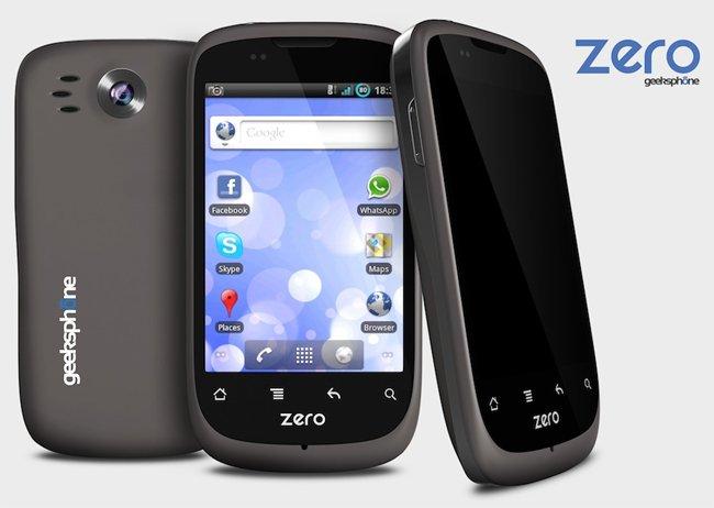 GeeksPhone Zero, en España también se fabrican Smartphones