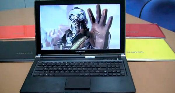 Gigabyte P2532: El portátil I7 más fino del mundo