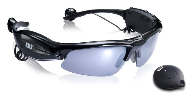 Gafas Hawk-Eye de Naical con MP3 y cámara de vídeo