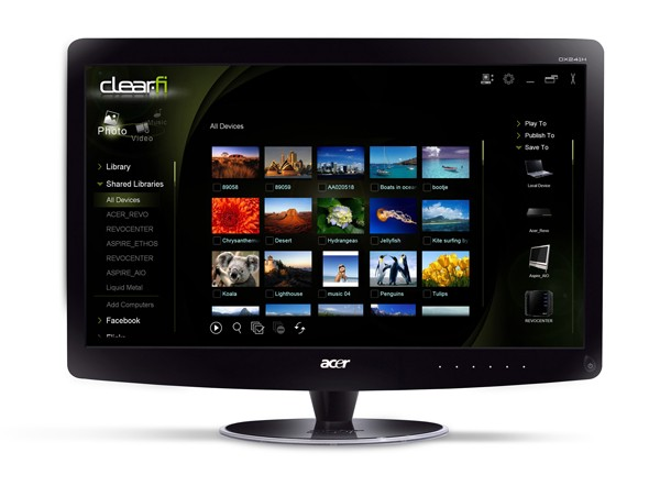 Acer Web Surf Station, ¿un monitor con Google Chrome?