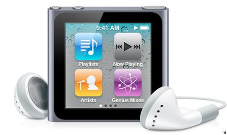 ¿iPod Nano con cámara? Tal vez
