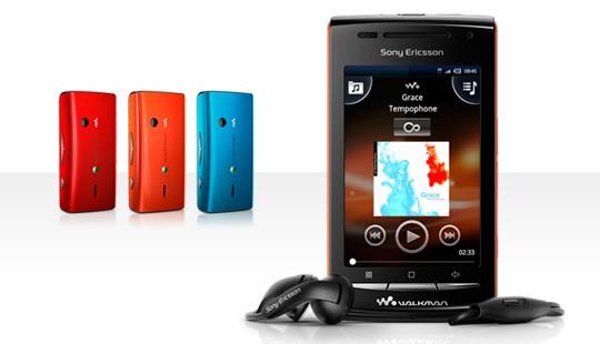La gama Walkman se actualiza con el primer androide: W8