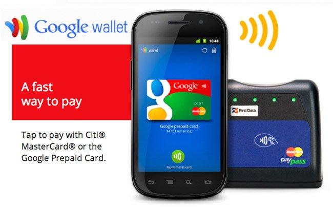 Google Wallet, el sistema de pago de Google por NFC