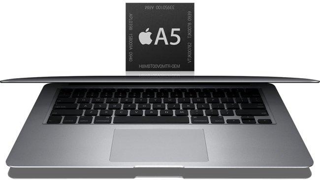 Nuevos Macbook Air… ¿con procesador A5?