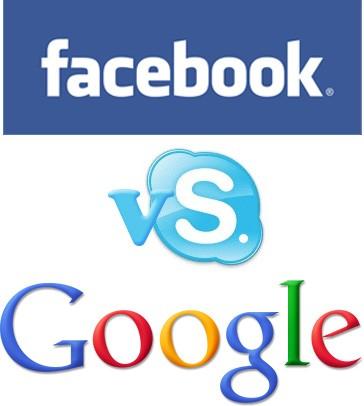 Google y Facebook pretenden comprar Skype