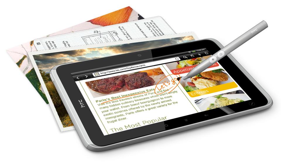 HTC Flyer se venderá sin su Stylus