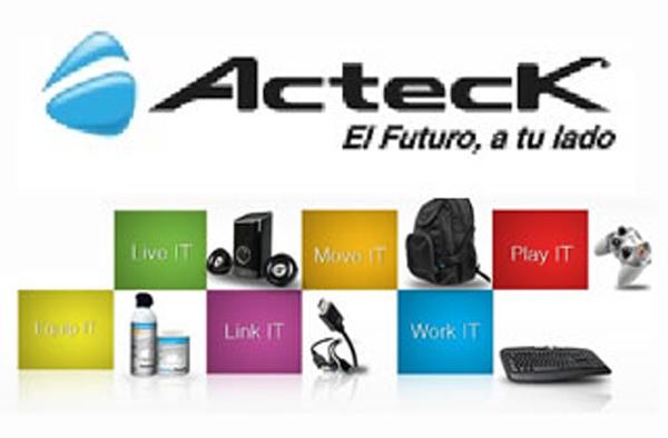 Acteck y su nueva imagen basada en colores