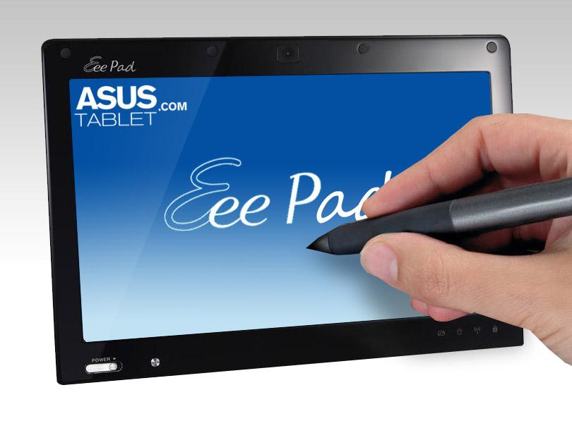 Eee Pad, término medio entre tableta y netbook