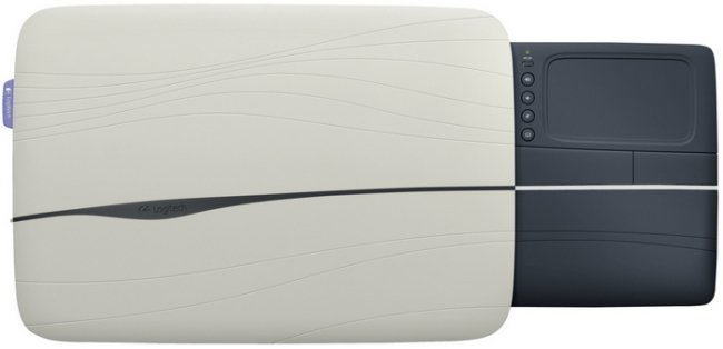 Logitech Lapdesk N600, Base para portátiles con Trackpad integrado.