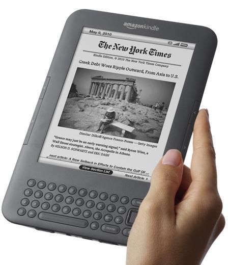 Amazon Kindle 3G: Descarga libros desde cualquier lugar