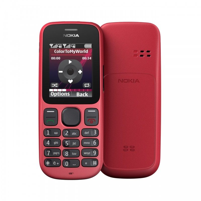 Nokia 100 y 101, dos nuevos móviles muy económicos
