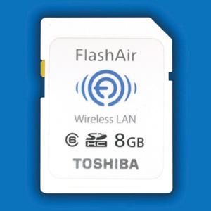 Toshiba FlashAir, tarjetas SD con conexión inalámbrica