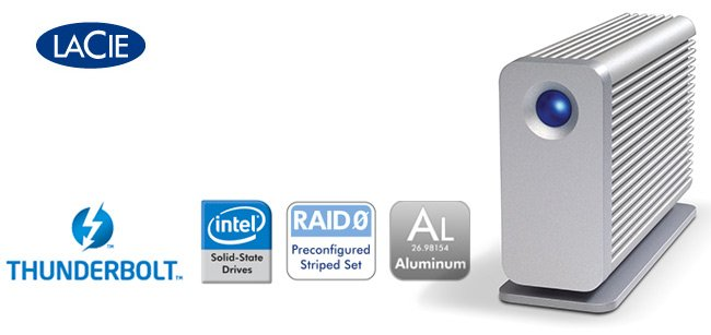 LaCie Little Big Disk con Thunderbolt ya está disponible