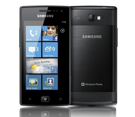 Omnia W, la nueva apuesta de Samsung a Windows Phone 7