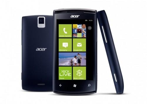 Acer presentó Allegro, su primer smartphone con Windows Phone 7