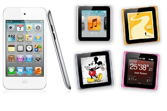 Los nuevos iPod Touch y Nano de Apple