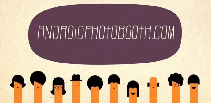 Photobooth: aplicación para unir varias fotos en un mismo archivo
