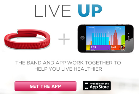 Jawbone Up, la pulsera para iPhone ya ha sido presentada