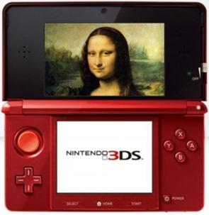 Nintendo 3DS será la nueva audioguía del Louvre