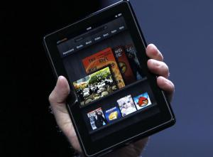 Kindle Fire, la segunda tablet más vendida