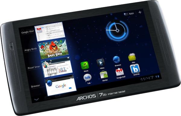 Nueva Archos 70b internet tablet