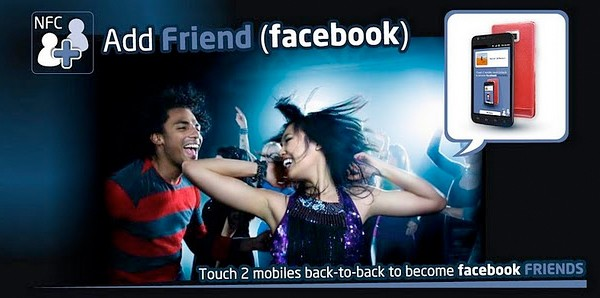 Añade contactos a Facebook usando NFC y Add Friend