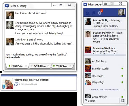 Facebook Messenger, disponible oficialmente para Windows 7