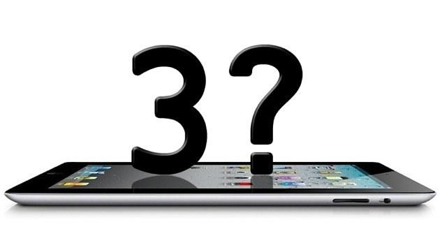 Crecientes Rumores sobre el iPad 3