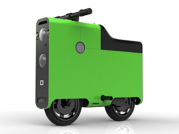 """BOXX, la """"caja"""" eléctrica que te llevará por la ciudad"""