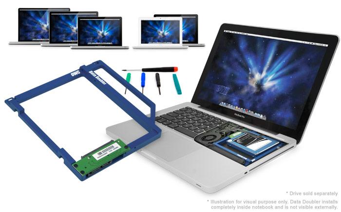 Configura tu Macbook o Macbook Pro con doble disco duro.