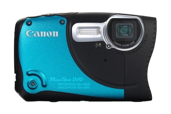 Canon presenta su nueva cámara todo-terreno