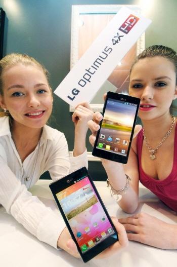 LG Optimus 4x HD, otro smartphone quad core