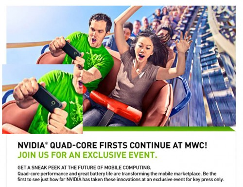 NVIDIA confirmó la presentación de smartphones quad core en MWC 2012