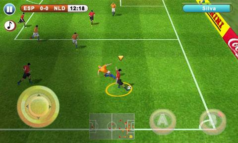 Juegos de fútbol para iphone y android