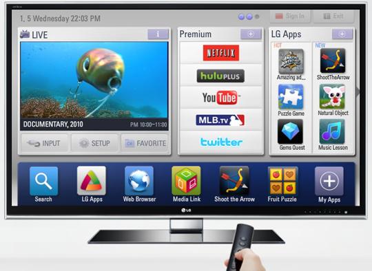 Los próximos Smart TV de LG tendrán videojuegos