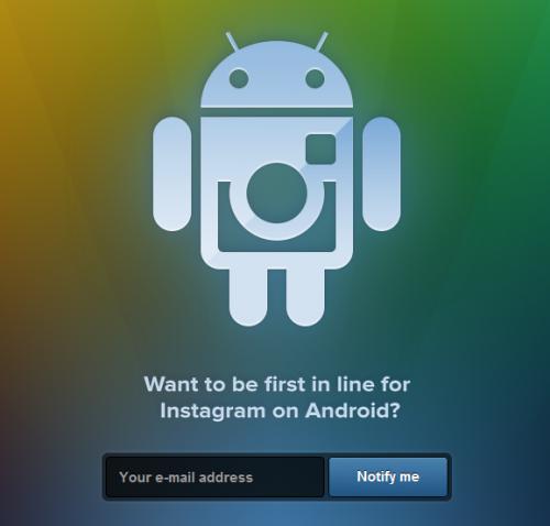 ¿Instagram para Android? Cada día más cerca