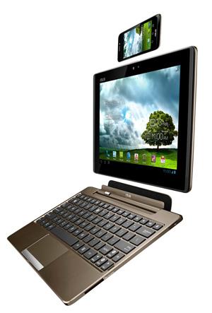 Asus Padfone, teléfono, tablet, ordenador portátil