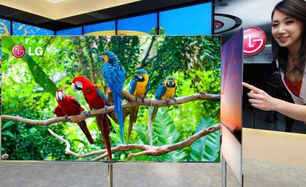 El televisor OLED de 55 pulgadas de LG estará disponible en mayo