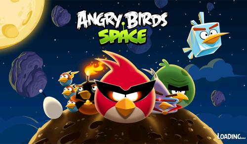 Angry Birds Space llegó a BlackBerry PlayBook