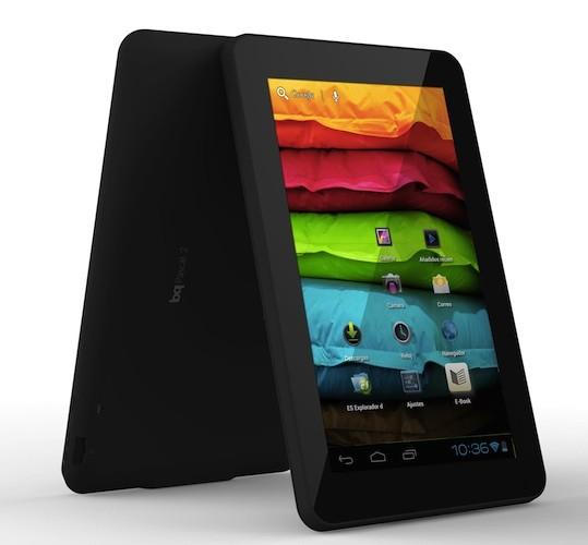 bq Pascal 2, tablet ICS con sabor Español