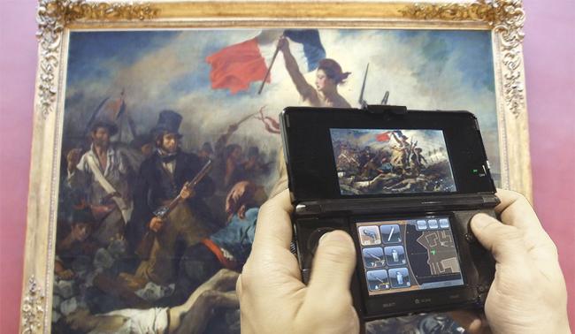 La Nintendo 3DS, nueva audioguía del Louvre