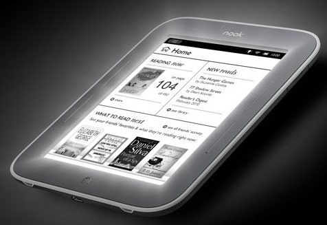 Nook Simple Touch: un e-book para leer en la oscuridad