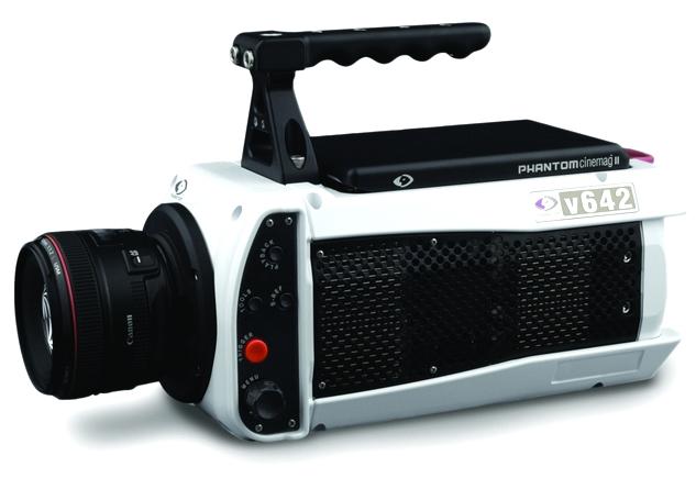 Phantom v642, vídeo de alta velocidad.