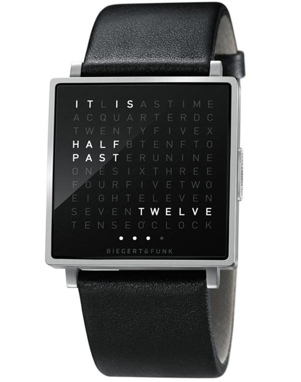 Qlocktwo W, un reloj con letras