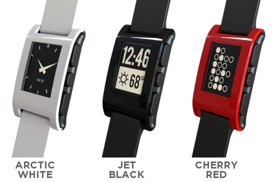 Pebble, el Geek-reloj con pantalla E-ink