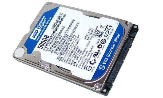 WD Scorpio Blue, delgado disco duro para Ultrabooks