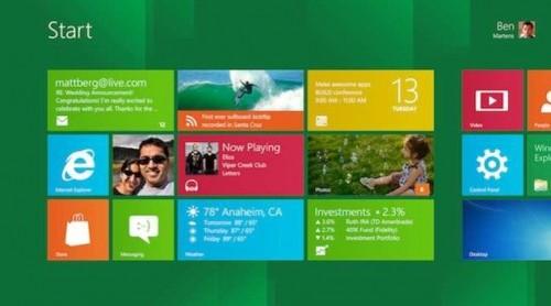 Microsoft pide que las ultrabooks con Windows 8 incluyan pantallas táctiles